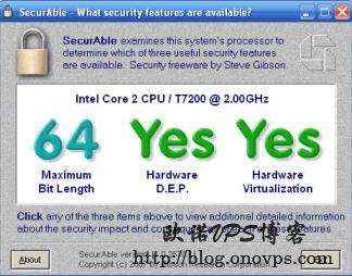 使用SecurAble检测CPU是否支持虚拟化.png